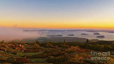 Photograph - Bar Harbor Sunrise. by New England Photography