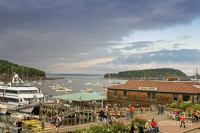 Photograph - Bar Harbor Waterfront by Patricia Hofmeester