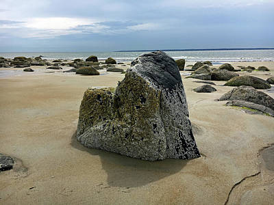 Photograph - Bar Head Rocks by Nancy Landry