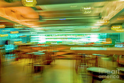 Photograph - Bar In Motion Blur by Mats Silvan