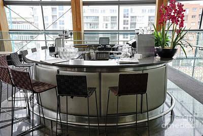 Photograph - Bar Inside The Gibson Hotel In Dublin Ireland by Vizual Studio