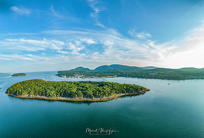 Photograph - Bar Island, Bar Harbor  by Michael Hughes