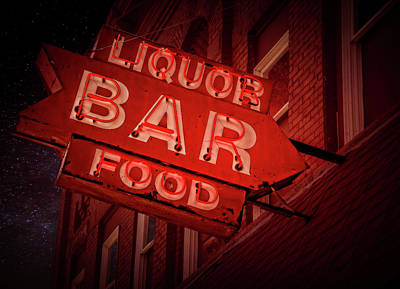 Photograph - BAR by Jerry Golab