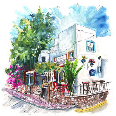 Painting - Bar La Mandragora In San Jose by Miki De Goodaboom