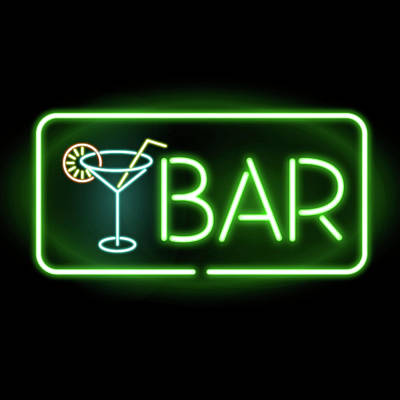 Mixed Media - Bar Neon  by Gina Dsgn