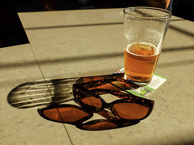 Photograph - Bar Shadows by Kelly E Schultz