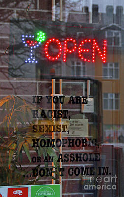 Photograph - Bar Sign In Reykjavik  7397 by Jack Schultz