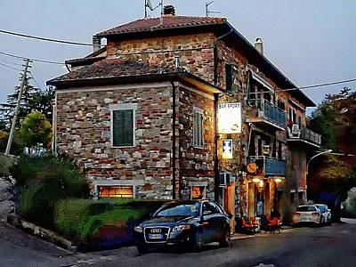 Photograph - Bar Sport In Villastrada Umbria by Dorothy Berry-Lound