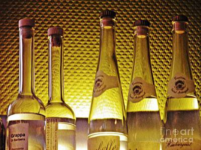 Wine Bottle Wall Art Photograph - Bar Still Life 2 by Sarah Loft