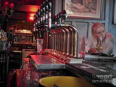 Photograph - Bar Taps In Kilkenny by Rosanne Licciardi