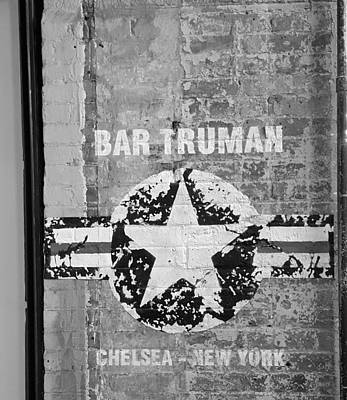 Photograph - Bar Truman B W  by Rob Hans