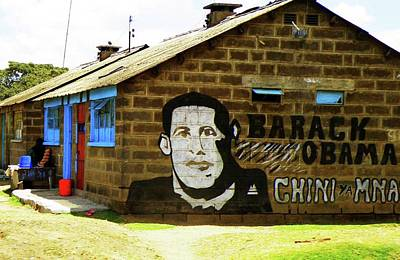 barack Obama Art Print by Irene Jonker