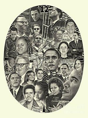 Barack Obama- Time For Change Art Print