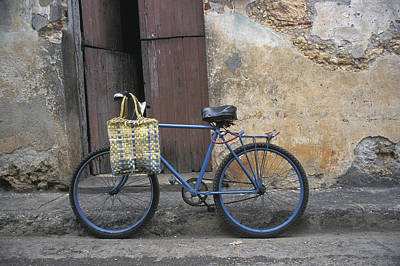 Baracoa Bicycle Art Print