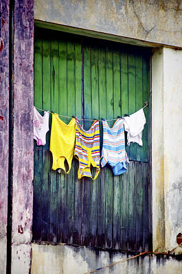 Cuba Photograph - Baracoa Door 3 by Claude LeTien