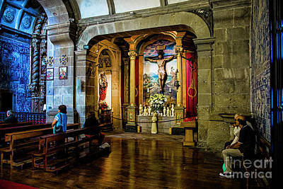 Photograph - Barag Church Interior by Rick Bragan