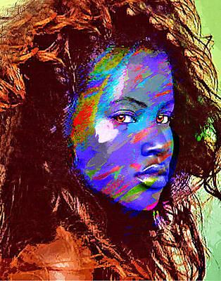 Barbados Woman Art Print by Philip Gresham