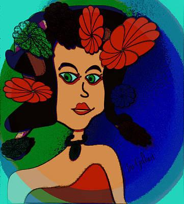 Digital Art - Barbara Ann by Iris Gelbart