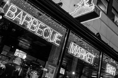 Photograph - Barbecue Market Bar by SR Green