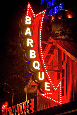 Art Print featuring the photograph Barbeque Smokehouse by Mark Andrew Thomas