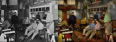 Photograph - Barber - Cowboy Stories 1939 - Side By Side by Mike Savad