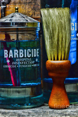 Barber Neck Duster Art Print by Paul Ward
