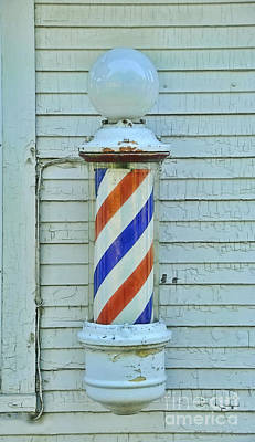 Photograph - Barber Pole by David Arment