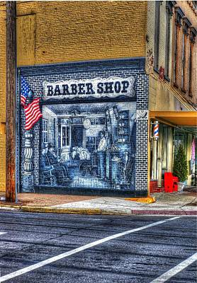 Photograph - Barber Shop Corner by Randy Pollard