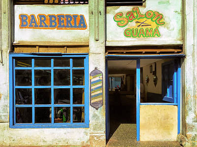 Photograph - Barber Shop by Dominic Piperata