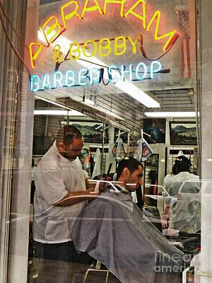 Photograph - Barber Shop by Sarah Loft