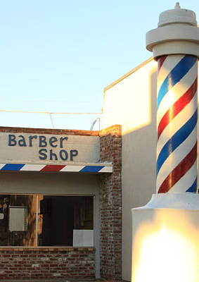 Solano County Photograph - Barber Shop by Troy Montemayor