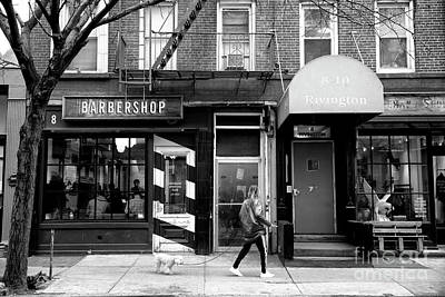 Photograph - Barbershop Walk by John Rizzuto
