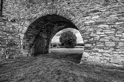 Photograph - Barbican Gate Trim Castle by Martina Fagan