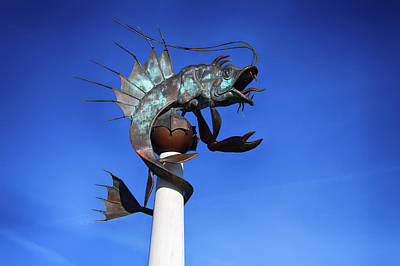 Photograph - Barbican Prawn by Chris Day