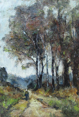 Painting - Barbizon Road by Debora Cardaci