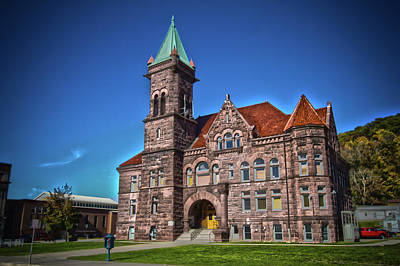 Photograph - Barbour County Courthouse by Daniel Houghton
