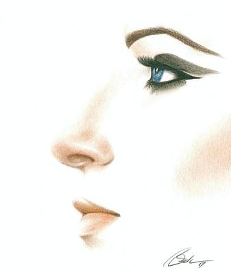 Barbra Art Print