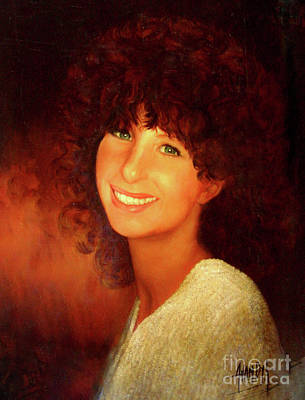 Streisand Painting - Barbra Streisand by Anthony Vandyk