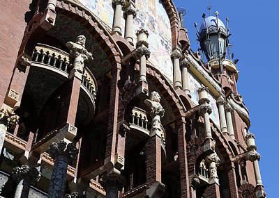 Art Print featuring the photograph Barcelona 4 by Andrew Fare