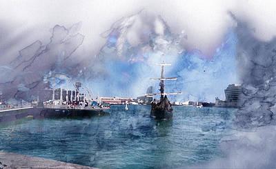 Artwork Painting - Barcelona 58419686 by Jani Heinonen