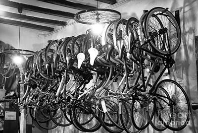Photograph - Barcelona Bike Shop by John Rizzuto