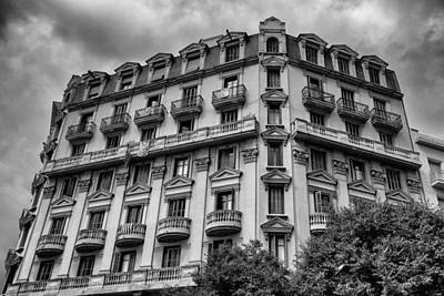 Barcelona Buildings And Balconies Art Print