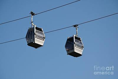 Photograph - Barcelona Cable Cars by David Fowler