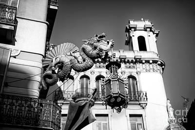 Photograph - Barcelona Dragon by John Rizzuto