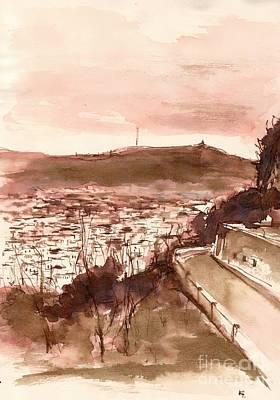 Barcelona  Original by Karina Plachetka
