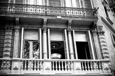 Photograph - Barcelona Light In The Window by John Rizzuto