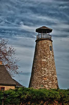 Photograph - Barcelona Lighthouse 3248 by Guy Whiteley