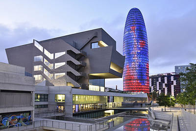 Photograph - Barcelona Modern Architecture by Marek Stepan