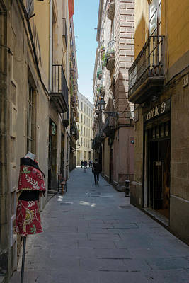 Photograph - Barcelona Old City 1 by Steven Richman