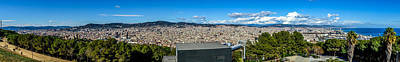 Photograph - Barcelona Panorama by Randy Scherkenbach